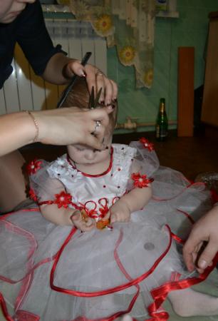 Сценарий 1 год ребенку