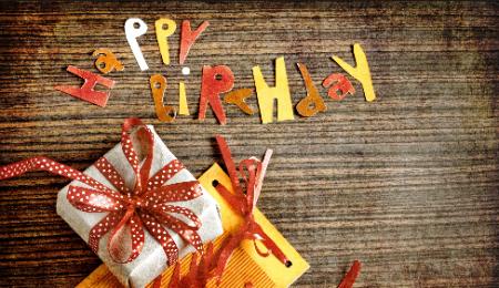 Оригинальное поздравление с днем рождения словами