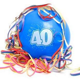 Поздравления с 40-летием подруге