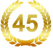 Поздравления с 45-летием подруге